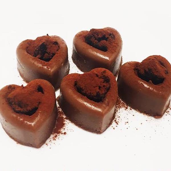 GINZA限定 ハートの江戸久寿餅 チョコレート