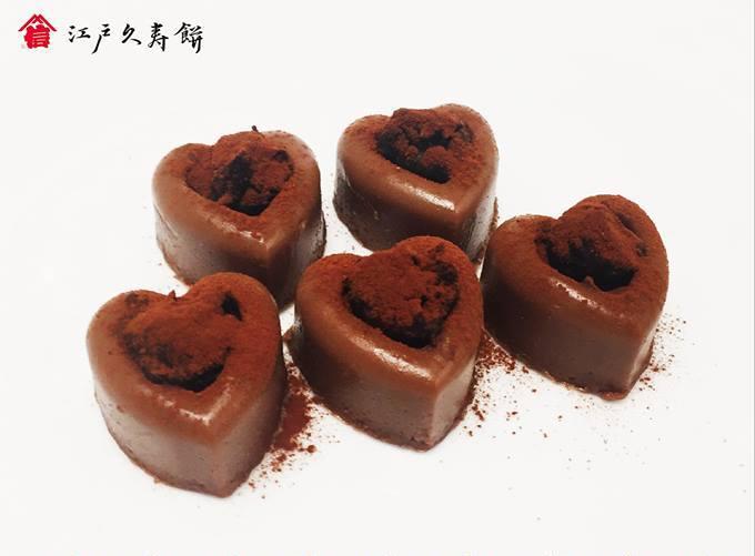 銀座松屋8Fバレンタインワールド 限定チョコレートくず餅